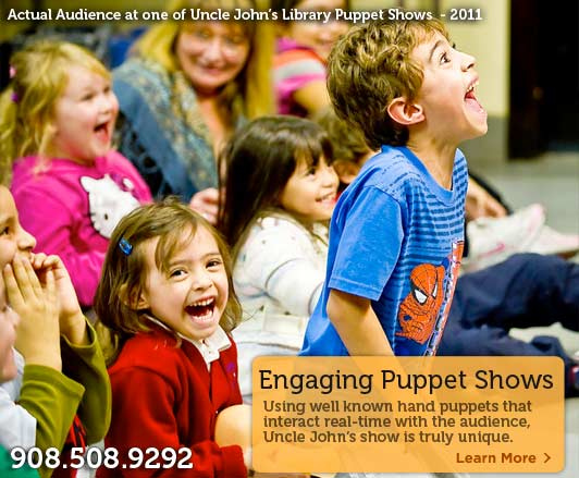 Essex Fells NJ Puppeteer Kids Birthday Party Puppet Shows In - Childrens birthday entertainment essex